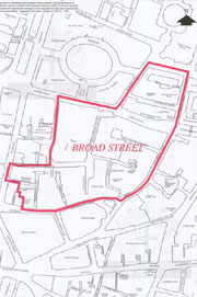 Broad Street Ward map