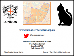 Broad Street Ward Business Card - Side A