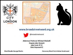 Broad Street Ward Business Card - Side A