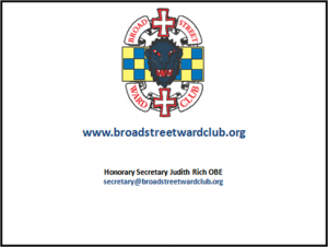 Broad Street Ward Business Card - Side B
